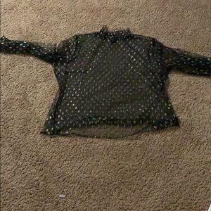 Sheer blouse
